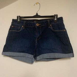 STS Blue Denim Shorts Size 3